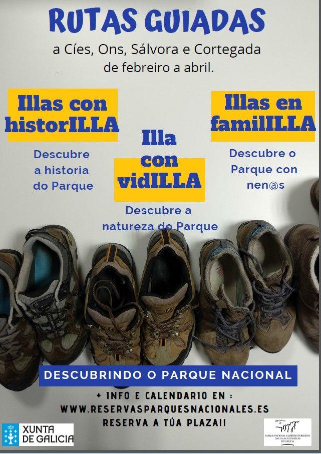 illas atlánticas de Galicia visitas