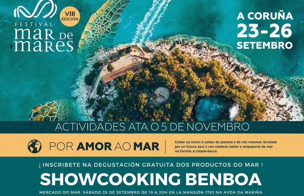 Benboa: Showcooking degustación gratuíta en A Coruña